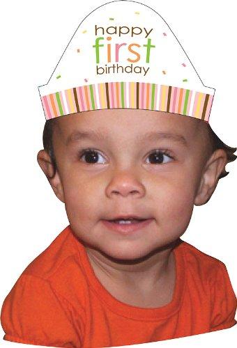 Sucré à une party girl bandeaux chapeau (pack de 8)