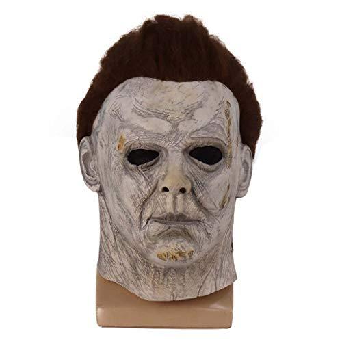 N/A. Halloween ms nueva serie Myers mscara de ltex de cara completa terror juguete de terror, disfraz de cosplay para fotografa de accesorios para Navidad Pascua
