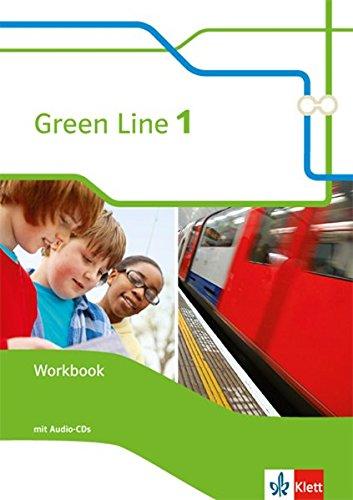 Green Line 1: Workbook mit 2 Audio-CDs Klasse 5 (Green Line. Bundesausgabe ab 2014)