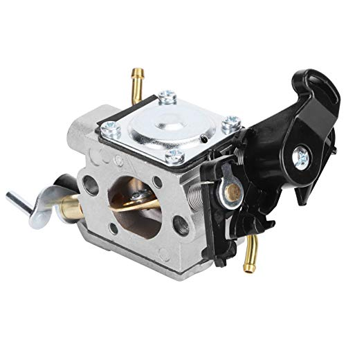 Atyhao Carburador de aleación de Aluminio Carb Apto para Husqvarna 450 450E 445 445E Motores de Gasolina de Motosierra Carburador de carburador de aleación de Aluminio de Repuesto