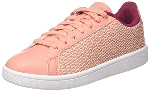 adidas CF Advantage Cl W, Sneaker a Collo Basso Donna, Rosa (Trace Pink/Mystery Ruby), 38 2/3 EU