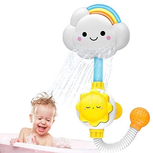 DierCosy Baby-dusche Spielzeug-badewasser-dusche Spielzeug Schöne Wolke Regenbogen-Wasser Squirt-dusche-hahn Für Kleinkinder Kinder Spray