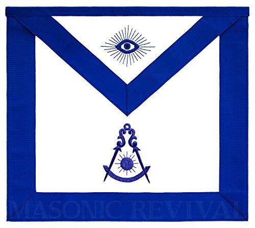 Masonic Revival - Past Master Apron (Lambskin)