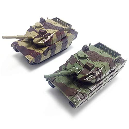 LNIMIKIY Panzer Spielzeug Kunststoff Modell Kinder Soldaten Gedreht Kanone Krieg Geschenke Pädagogische mlung Mini Militärfahrzeuge Kinder Armee