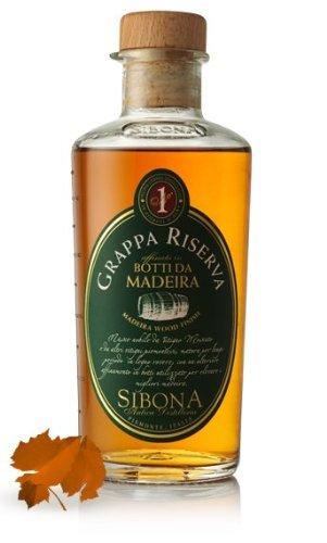 SIBONA No.1 - Grappa Riserva - Botti da Madeira (in einer hübschen Geschenkdose)
