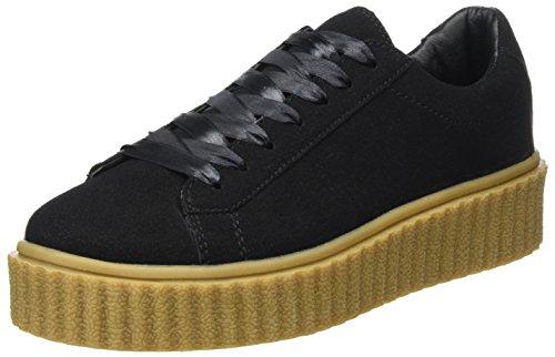 ICHI Damen A Margot FW Sneaker, Schwarz (Black), 41 EU