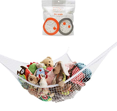 Stuffed Animal Toy Hammock  Premium Plush Toy Hanging Organizer  SKY JUNGLE  Jumbo Large Storage Mesh Pet Net