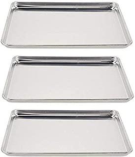 Vollrath 5303 Wear-Ever Half-Size Sheet Pans, Set of 3 (18-Inch x 13-Inch, Aluminum)