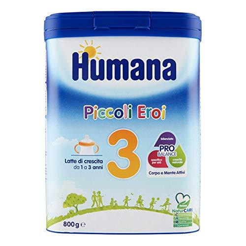 Humana 3 Latte in polvere Piccoli eroi 800 gr.
