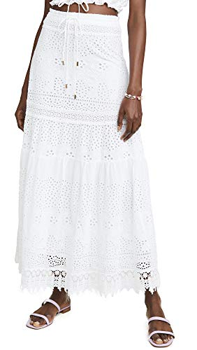 Melissa Odabash Women's Alessia Skirt, White, Medium