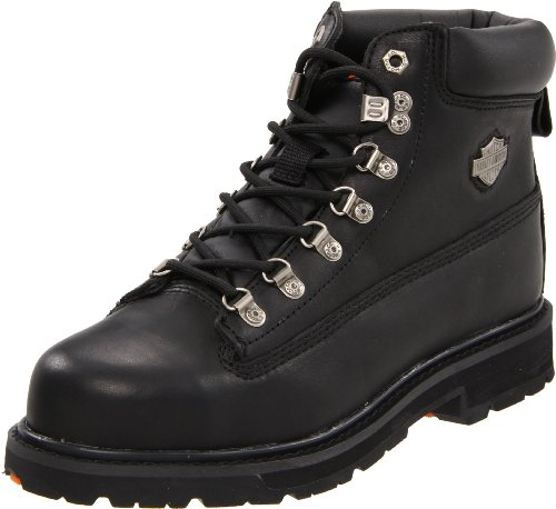 Harley-Davidson Men's Drive Motorcycle Safety Boot, Black, 9.5 M US