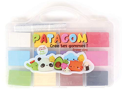 Patagom 12-Farben-Modellier-Radiergummi