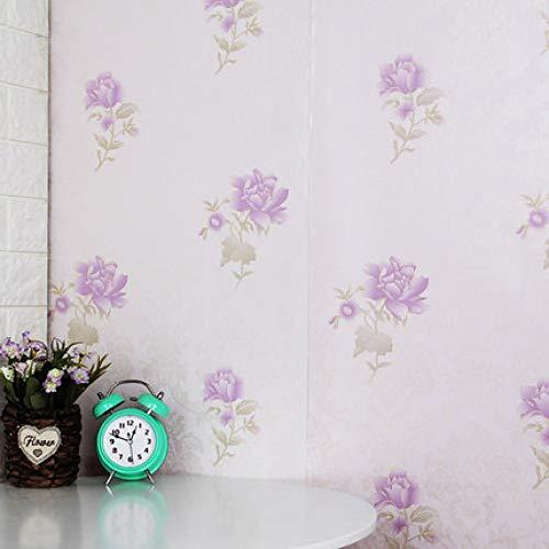 Zelfklevend behang waterdichte gang buitenmuur muur tegel baksteen trap baksteen 0.45m*10m Peony Flower