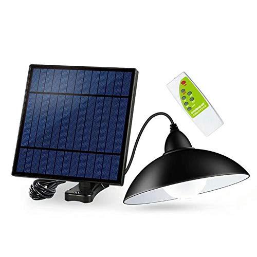 NBPLUS 12LED Solar-Hohe Helligkeit Straßenlaterne Pendelleuchten, Außenwasserdicht Kronleuchter Landschaft Licht-Garten-Rasen-Scheinwerfer Mit Fernbedienung