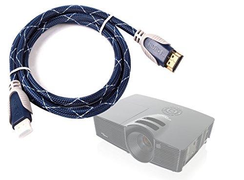 DURAGADGET Cable HDMI De Audio Y Vídeo para Proyector Epson EB-S04 | V11H719040 | LG PH300.AEU | PV150G - 1.4m - Conexiones Chapadas En Oro HD