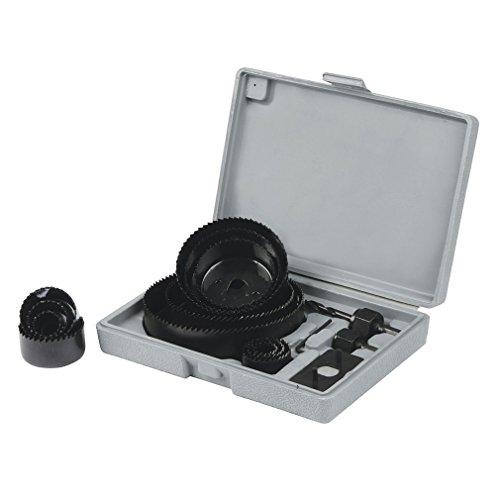 Silverline 633729 Juego coronas perforadoras, 16 pzas 19-127 mm
