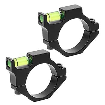 """XOOBIU 2-Pack Scope Level Bubble Level Rifle Scope Anti Cant Levels Fits 1"""" Tube"""
