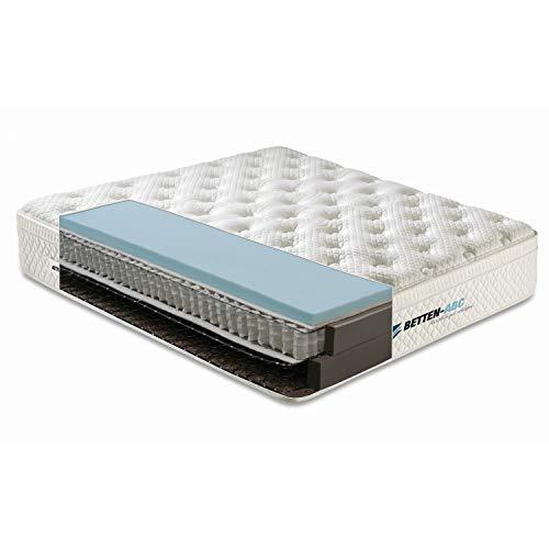 Boxspring-Matratze BOXXI - Der Boxspring herkömmliche Betten mit hochwertigem Gelschaum Größe 120x200
