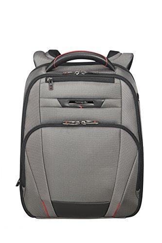 Samsonite PRO-DLX 5 - Backpack for 14.1' Laptop 1.2 KG Mochila tipo casual, 42 cm, 14 liters, Gris (Magnetic Grey)