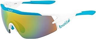 bollé 12309 Gafas, Unisex Adulto, Blanco (Matte) / Azul, L