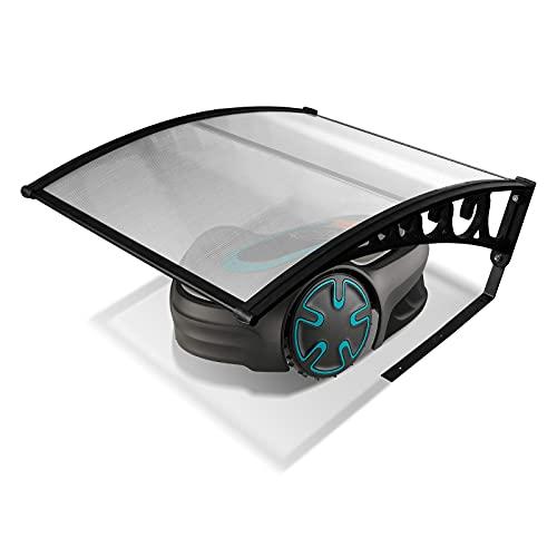 EINFEBEN Mähroboter Garage Dach Carport für Rasenmäher Automower 105x85x45cm Mähroboter Carport Schutzhülle Schutz vor Regen, Hagel und UV-Strahlen Kommt