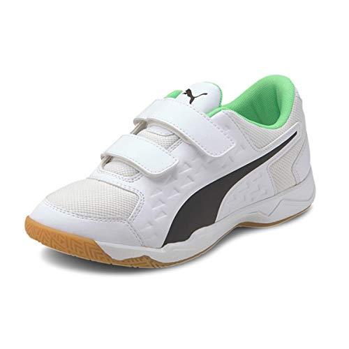 PUMA Unisex Childrens Auriz V Jr Football Boots White Size 45 UK