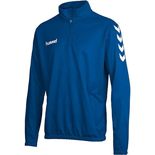 Hummel Herren Sweatshirt Core 1/2 Zip, True Blue, XL, 36-895-7045
