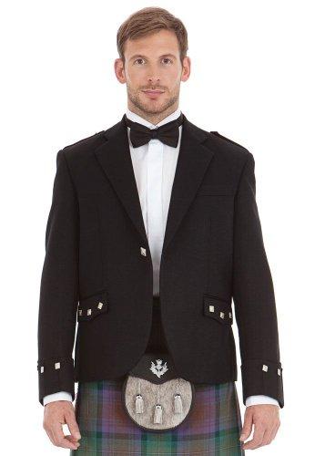 Kilt Society Herren Schottische Argyll Kilt Jacke (EU 60 Regular)
