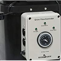 Active Aqua GFO7CB Ebb & Grow Flow Ebb and Grow Controller, Black