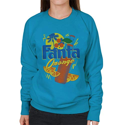 Fanta Orange Bottle 90s Summer Sweatshirt voor dames