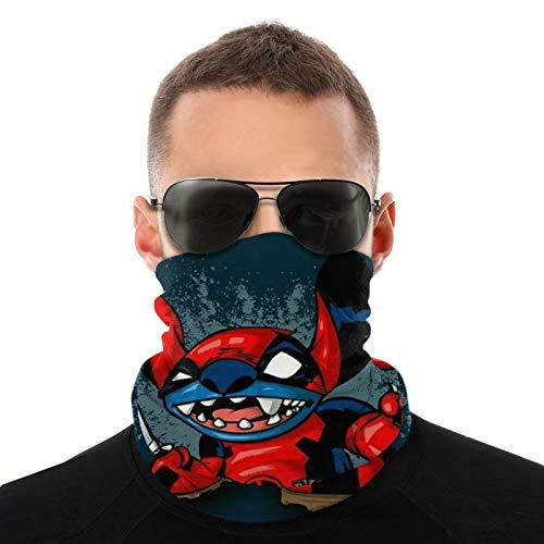 Deadpool - Pañuelo para la cabeza y la cara, para el cuello, para exteriores, para hombres y mujeres