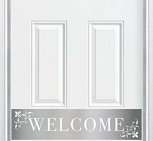 Engraved Door Kick Plate