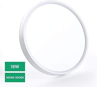 LED Plafonnier mince 18W LED Lampe de plafond Blanc naturel Blanc chaud Température de..