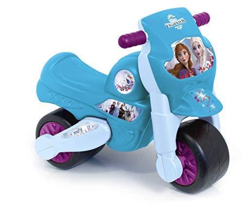 FEBER - Motofeber Frozen 2, Correpasillos moto con claxon, para niños de 18 meses a 3 años (Famosa 800012201)
