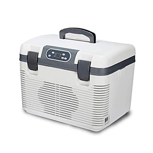 Koelkast auto, Portable Koelkast Cooler Warmer Verwarming Multifunctionele Electric Koelkast Mini Koelkast Diepvries 19L LOLDF1