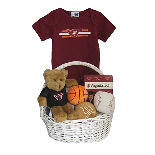 virginia tech gift basket - 1