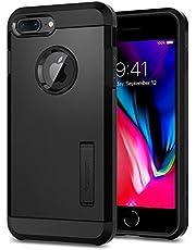 Spigen® [Tough Armor 2ª generación Funda iPhone 8 Plus y 7 Plus con Extrema protección y Tecnología de cojín de Aire con Kickstand para iPhone 7 Plus (2016), iPhone 8 Plus [Negro]