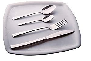 24-Piece Stainless Steel Mayfair Cutlery Set by Sabichi