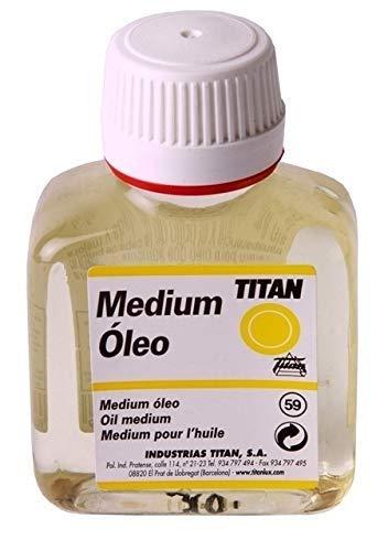 Medium para Colores al Óleo Titan - 100 mL