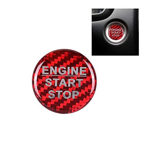LANZMYAN Car Carbon Fiber Engine St…