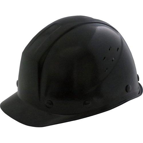ミドリ安全 ミドリ安全 FRP製 通気孔付ヘルメット ブラック SC11FVRAKPBK