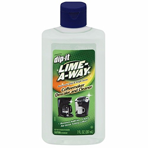 Lime-A-Way Dip-It Coffeemaker Cleaner, 7 fl oz Bottle, Descaler & Cleaner for Drip & Single Serve Coffee Machines