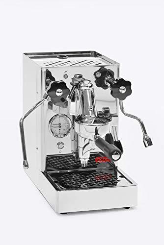 Lelit Mara PL62 Professionelle Kaffeemaschine mit E61-Gruppe für Espresso-Bezug, Cappuccino-Edelstahl-Gehäuse, rostfrei, Kupfer, Silber