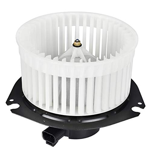 FAERSI HVAC Plastic Heater Blower Motor with Fan Cage fit for 1996-2013 Chevrolet Express 1500 2500 3500/1996-2013 GMC Savana 1500 2500 3500