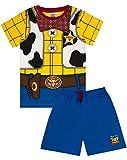 Licenza ufficiale Merchandise Toy Story Perfetto per ogni piccolo fan dei film Raffreddare Woody stampa costume Dispone di un breve maglietta maniche corte e pantaloncini Realizzata in materiali misti