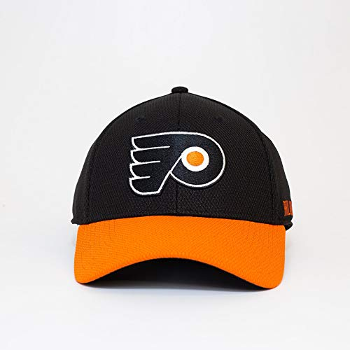 adidas Philadelphia Flyers 2019/20 NHL Coach Flex Fit NHL Cap, S/M