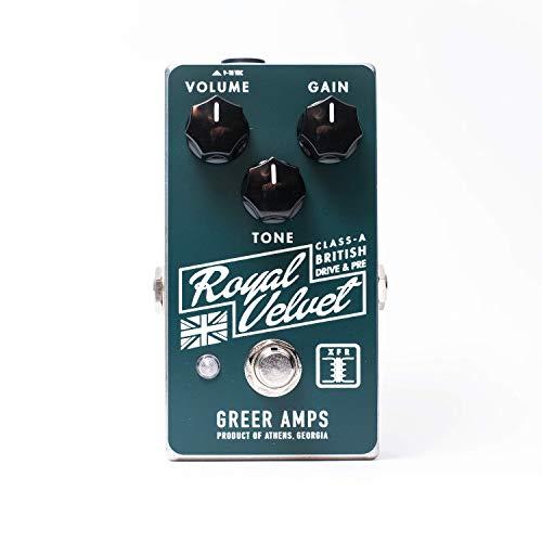 Greer Amps Royal Velvet Overdrive Guitar Effects Pedal