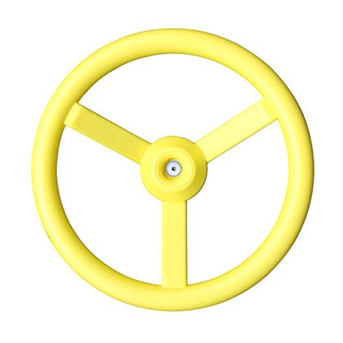 KidKraft A24500X Lenkrad für Spielhäuser, Gelb