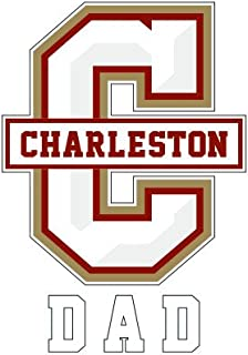 College of Charleston Dad Decal 'Dad'