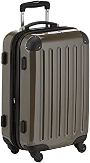 HAUPTSTADTKOFFER - Alex - Carry on luggage On-Board Suitcase Bag Hardside Spinner Trolley 4 Wheel Expandable, 55cm, titan (B0050IDVR6) | Amazon price tracker / tracking, Amazon price history charts, Amazon price watches, Amazon price drop alerts